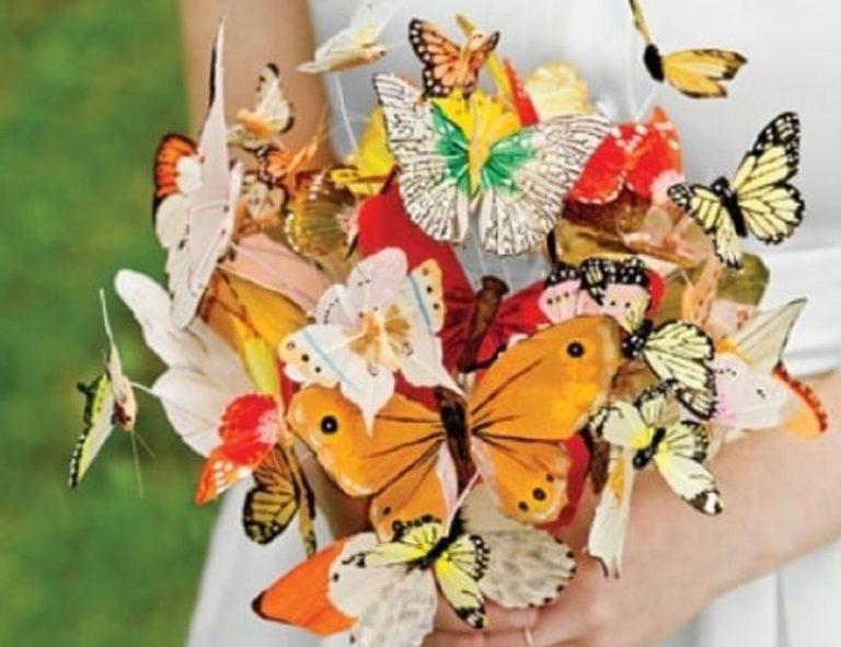 Netradičné svadobné kytice